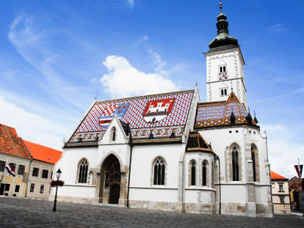 St.Marks Church, Zagreb, Croatia