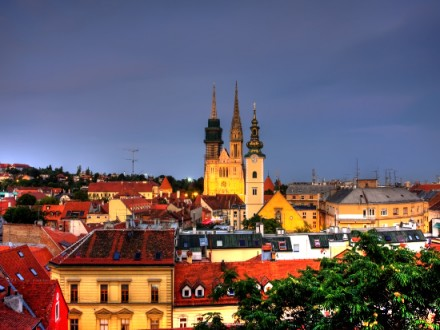 Zagreb, Croatia's capital city