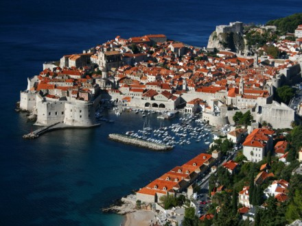 The stunning city of Dubrovnik