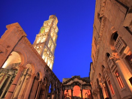 A bela cidade de Split, na Croácia
