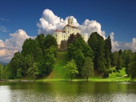 Trakoscan Castle, in Croatia