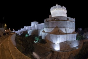 As muralhas Dubrovnik