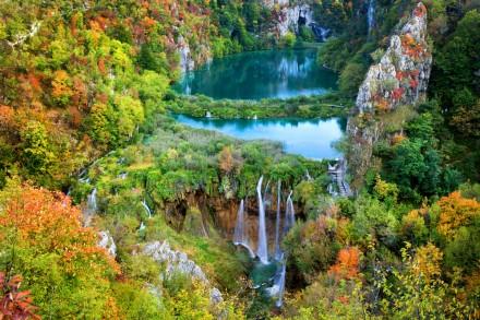 Parque Nacional dos Lagos Plitvice incluso no nosso pacote croácia