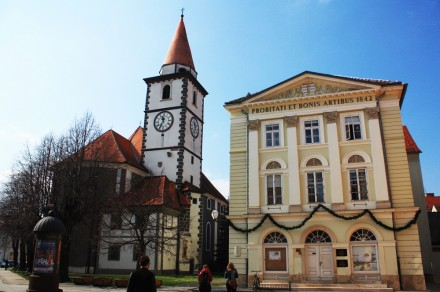 The amazing architecture of Varaždin
