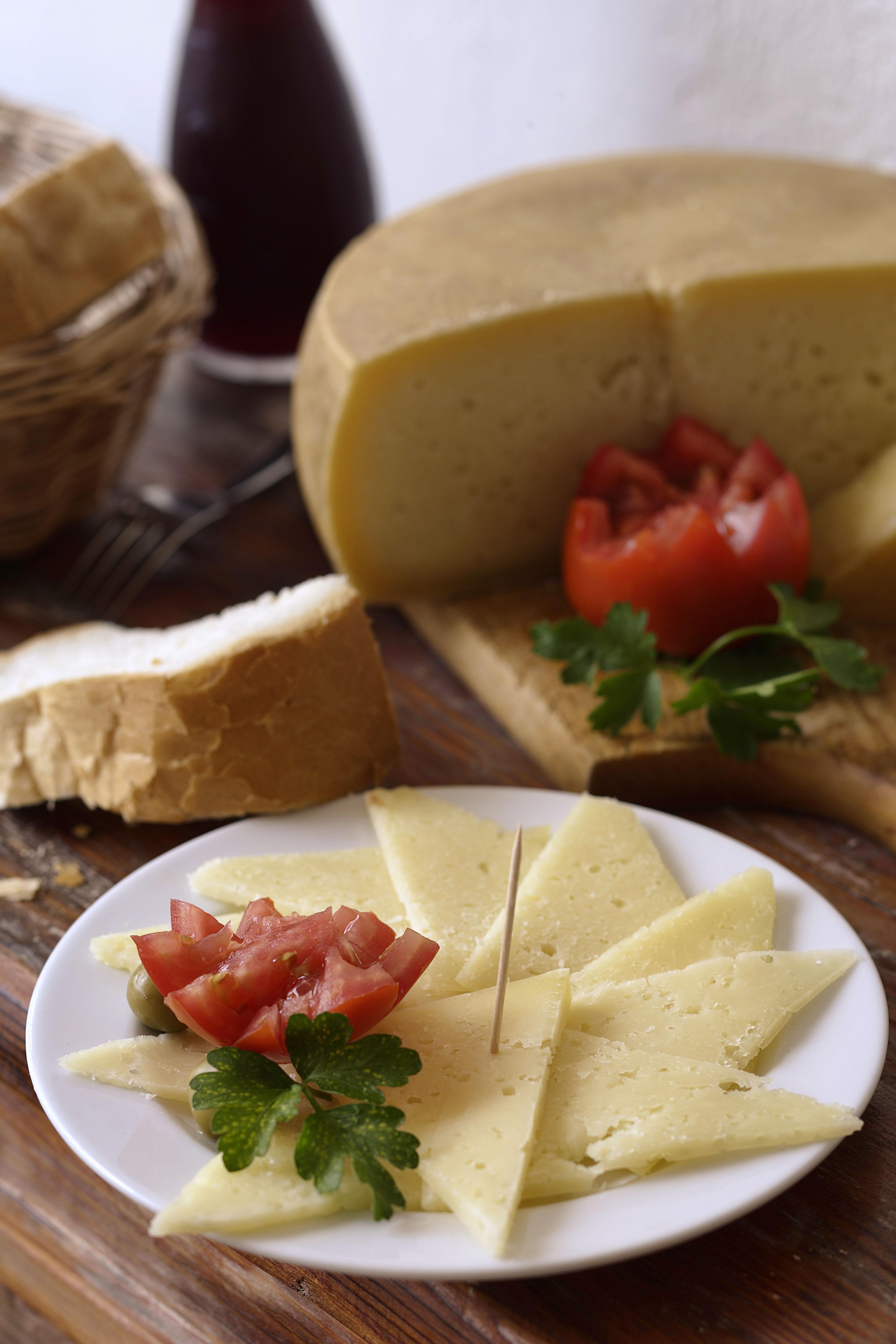 Paški sir, cheese from Pag Island in Croatia.
