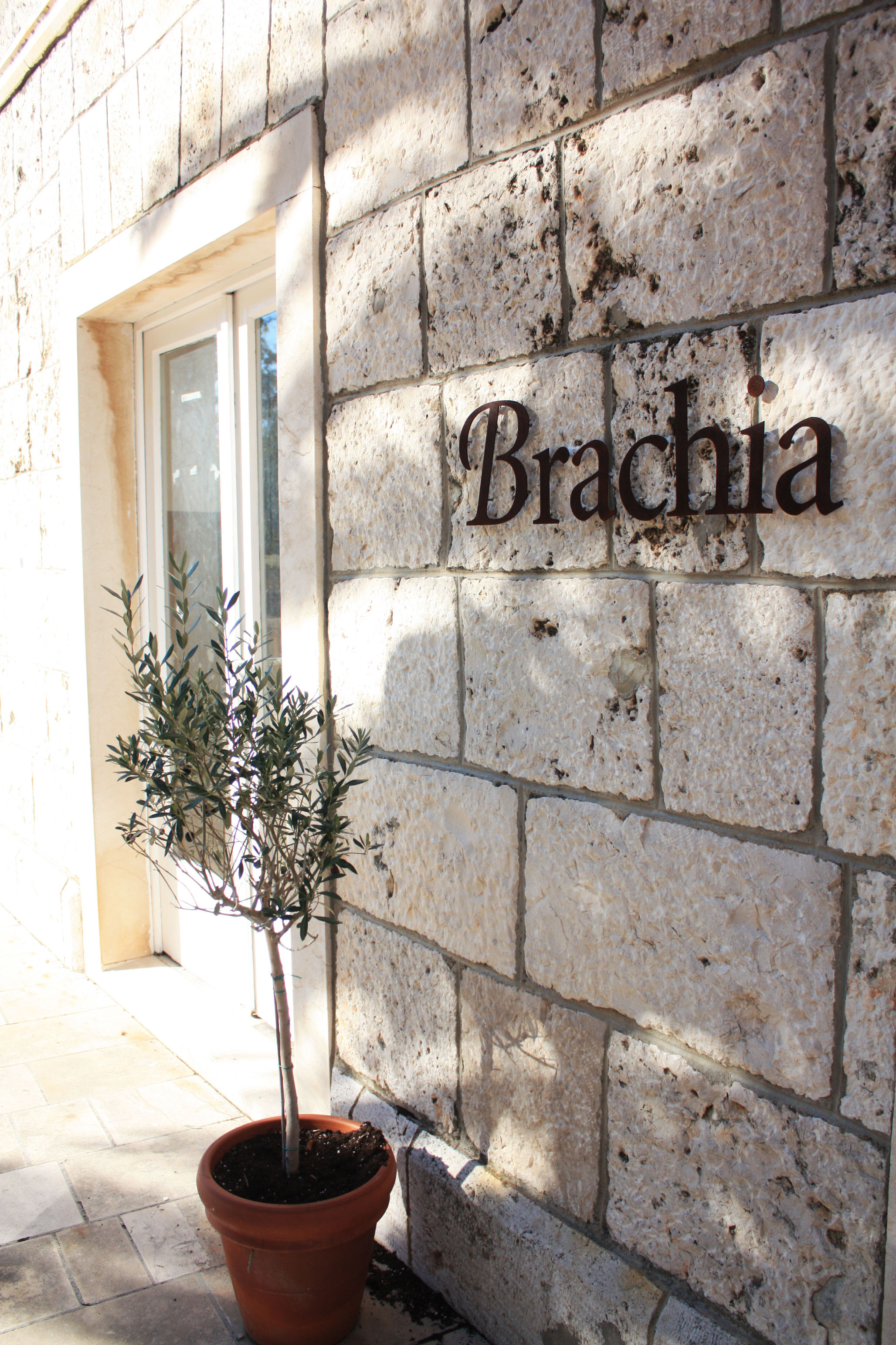 Brachia shop and restaurant in Selca on the island of Brač