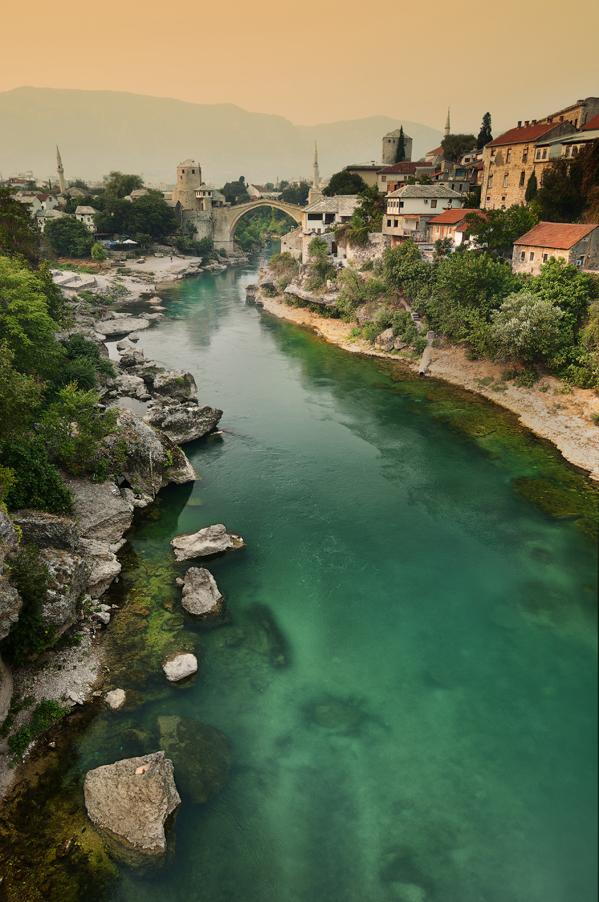 Mostar, in Bosnia and Herzegovina