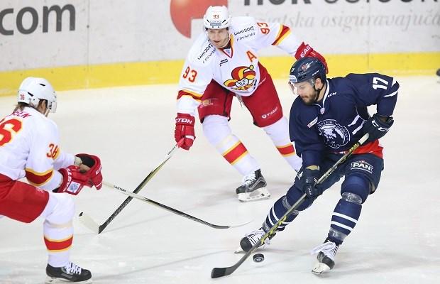The hockey team Medveščak Zagreb