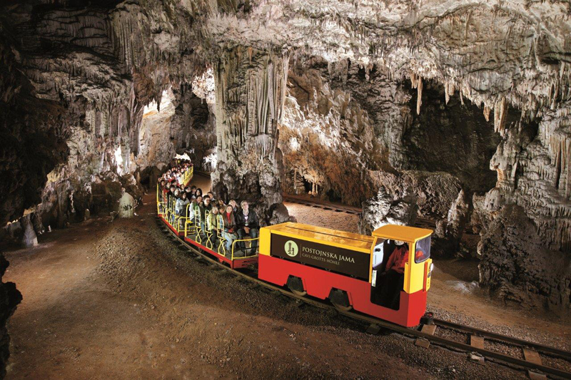 Postojna Cave, near Ljubljana