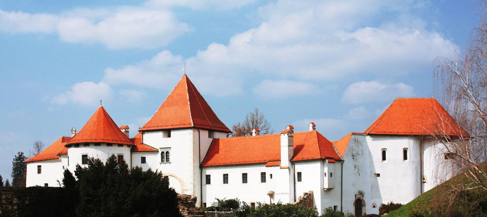 Varaždin Castle, northern Croatia.